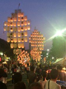 鳥取県米子市のお祭り。サ◯エさんのOPで見たことがあるような・・・