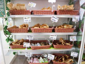 2号館10時におけるパンたち。