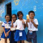 「しげるが聞いた!」AIESEC -カンボジアの子どもたちに食の大切さを教える-